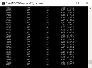 Screenshoot von Mplus als Beispiel für hohe Anzahl von Iterationen aber keine Konvergenz