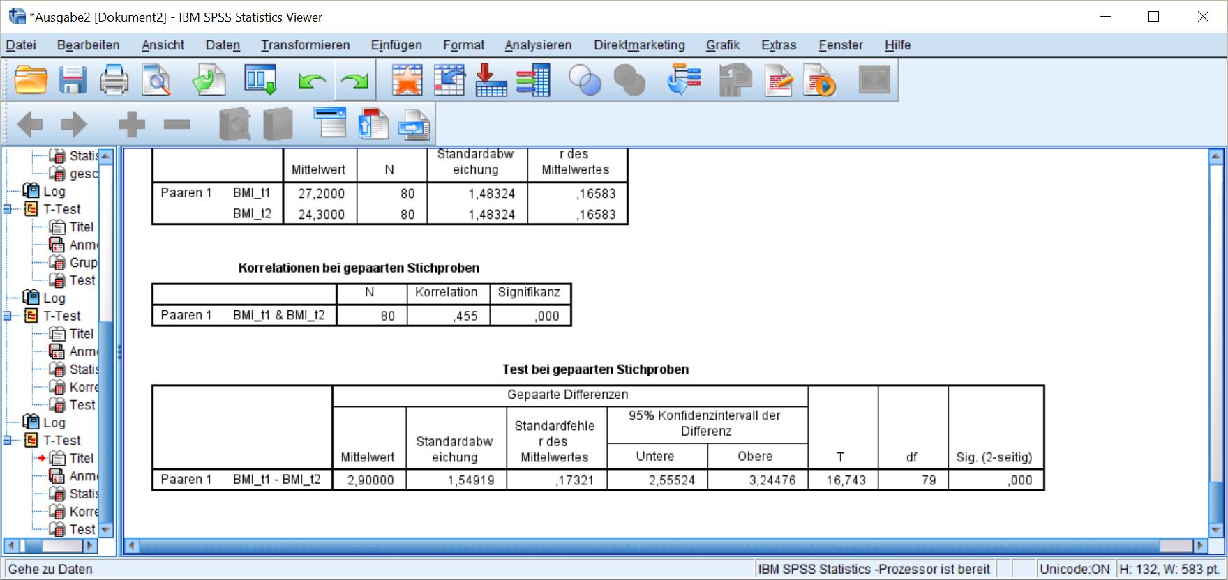 T-Test mit SPSS - die Grundlagen - STATISTIK - verständlich